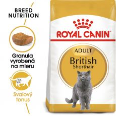 Royal Canin British Shorthair Adult granule pre britské krátkosrsté mačky 400 g