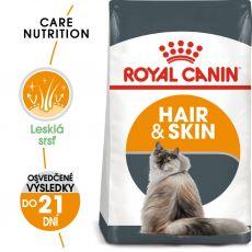 Royal Canin Hair And Skin Care granule pre mačky pre zdravú kožu a srsť 10 kg