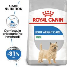 ROYAL CANIN Mini Light Weight Care diétne granuly pre psy 8 kg