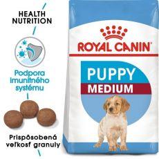 af01b1af0f Royal Canin Medium Puppy granule pre stredné šteňatá 4 kg