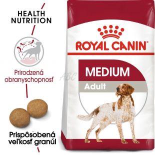 ROYAL CANIN Medium Adult granule pre dospelé stredné psy 4 kg