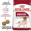 ROYAL CANIN Medium Adult granule pre dospelé stredné psy 15 kg