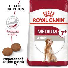 ROYAL CANIN Medium Adult 7+ granule pre dospelé starnúce stredné psy 4 kg