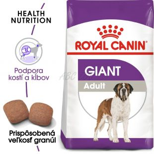 ROYAL CANIN Giant Adult granuly pre dospelé obrie psy 4 kg