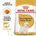 ROYAL CANIN Westie Adult granule pre dospelého westhinghlandského bieleho teriéra 0,5 kg