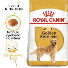 ROYAL CANIN Golden Retriever Adult granule pre dospelého zlatého retrievera 12 kg