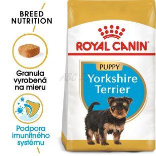 ROYAL CANIN Yorkshire Puppy granule pre šteňa jorkšíra 1,5 kg