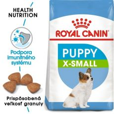 Royal Canin X-Small Puppy granule pre trpaslíčie šteňatá 500 g