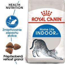 Royal Canin Indoor granule pre mačky žijúce vo vnútri 400 g