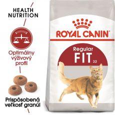 Royal Canin Fit granule pre správnu kondíciu mačiek 4 kg