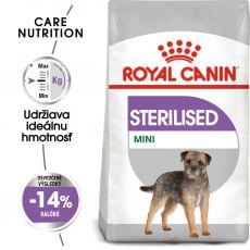 ROYAL CANIN Mini Sterilised granuly pre kastrované malé psy 3 kg