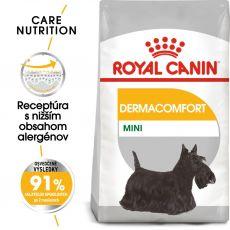 ROYAL CANIN Mini Dermacomfort granule pre malé psy s problémami s kožou 3 kg