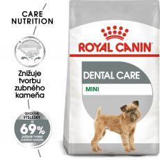 ROYAL CANIN Mini Dental Care granuly pre psy znižujúce tvorbu zubného kameňa 1 kg