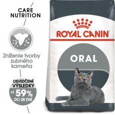 ROYAL CANIN Oral Care granule pre mačky znižujúce tvorbu zubného kameňa 8 kg
