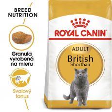 Royal Canin British Shorthair Adult granule pre britské krátkosrsté mačky 2 kg