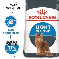 Royal Canin LIGHT WEIGHT CARE - krmivo pre neaktívne mačky, 2 kg